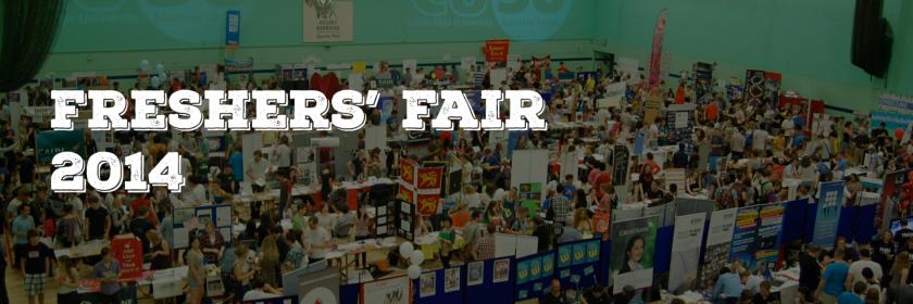 Freshers' Fair 2014