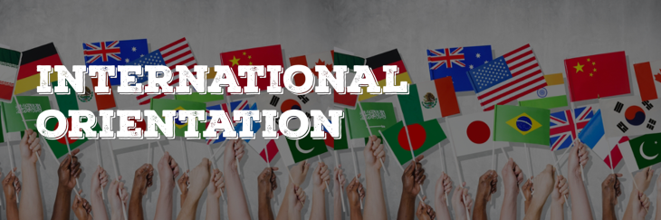 International Student Orientation Week