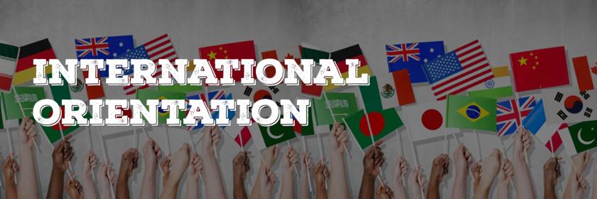 International Student Orientation Week