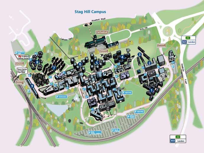 university-of-surrey-campus